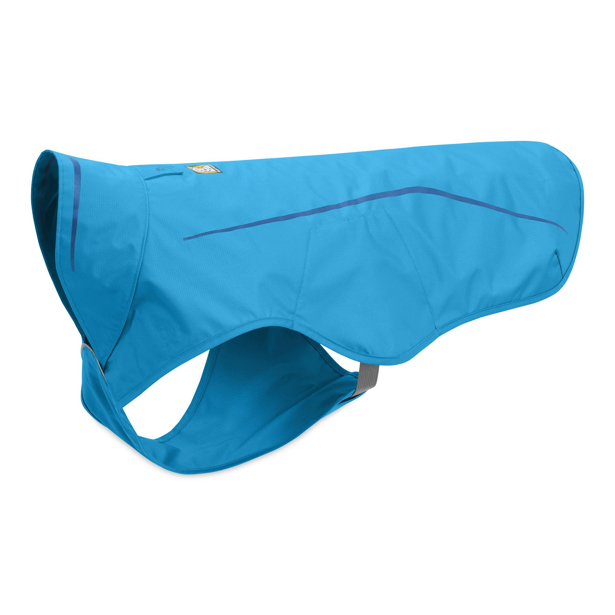 Sun Shower Dog Rain Jacket by RuffWear - Blue Dusk