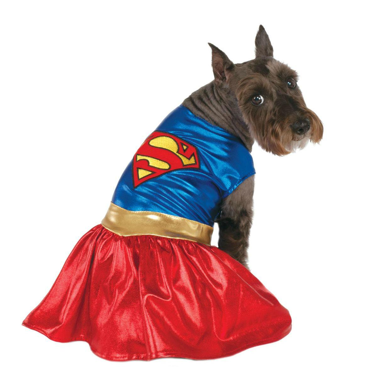 Supergirl Dress Dog Costume by Rubies