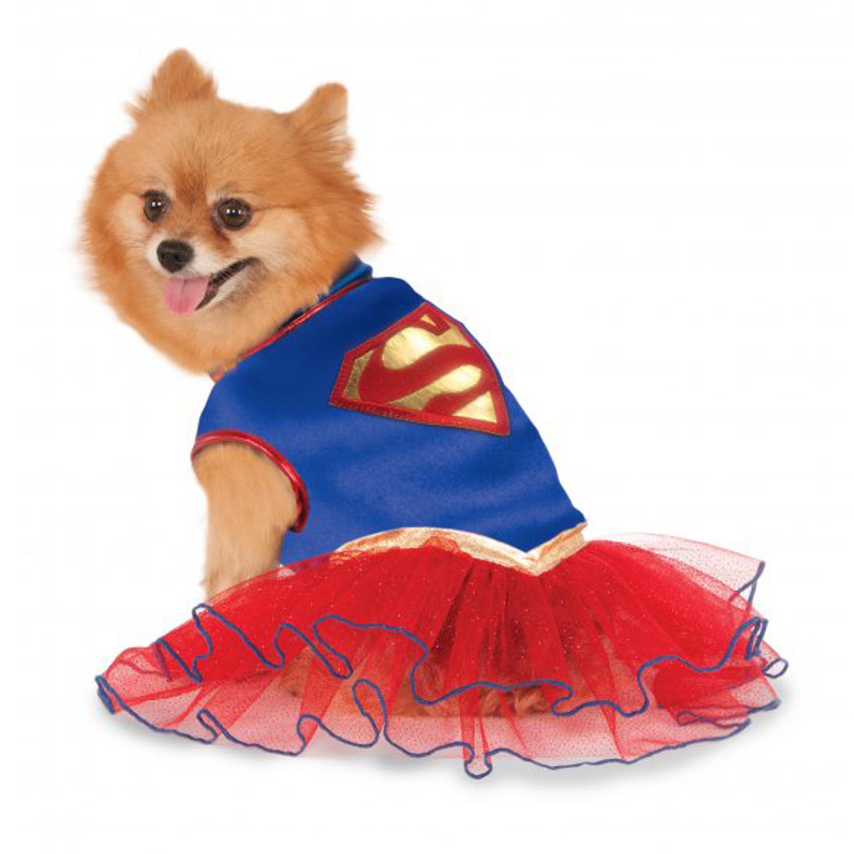 Supergirl Tutu Dog Dress