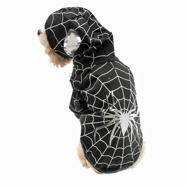 Superhero Dog Costume - Black Spider Dog  sc 1 st  BaxterBoo & Superhero Dog Costume - Black Spider Dog with Same Day Shipping ...