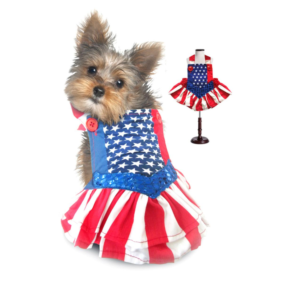 Superhero Dog Costume - Wonder Dog Dress