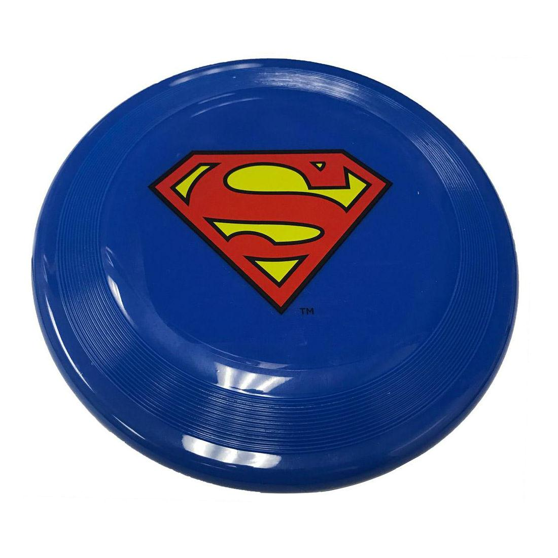 Superman Frisbee Dog Toy by Buckle-Down