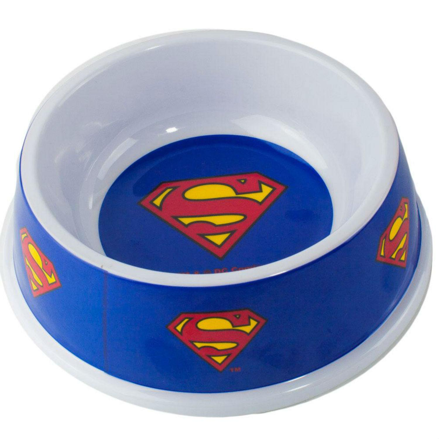 Superman Pet Food Bowl by Buckle-Down