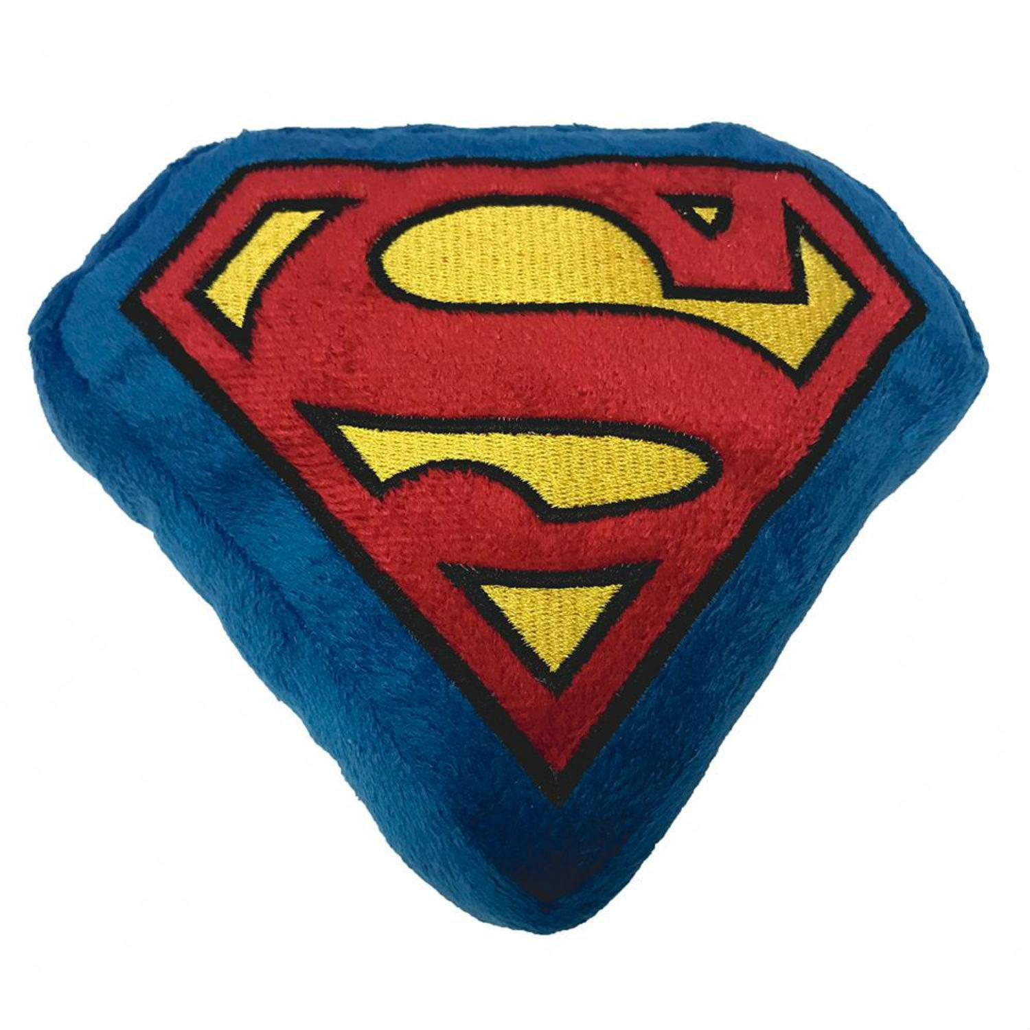 Superman Squeaky Plush Dog Toy by Buckle-Down