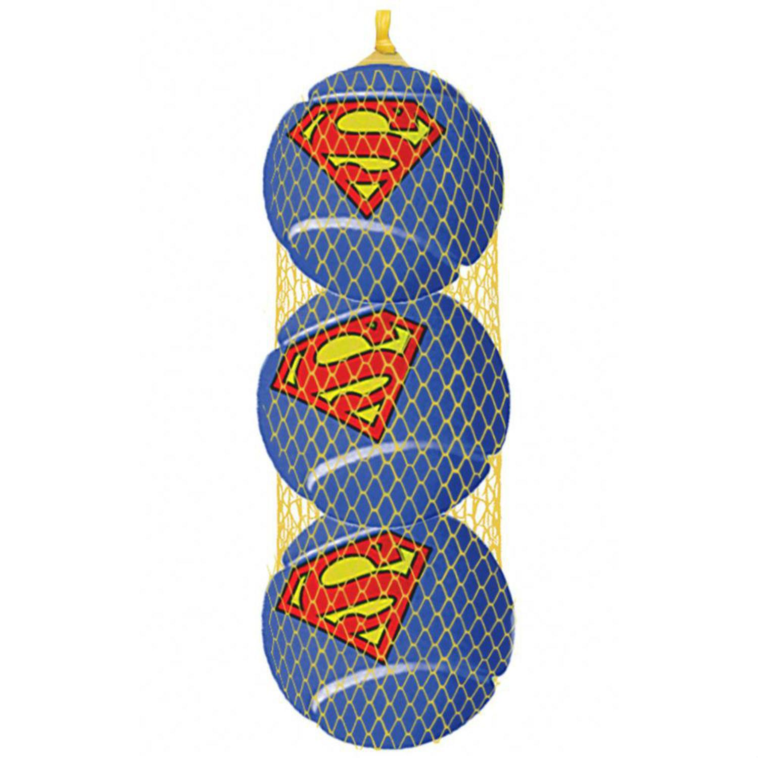 Superman Squeaky Tennis Ball Dog Toy by Buckle-Down