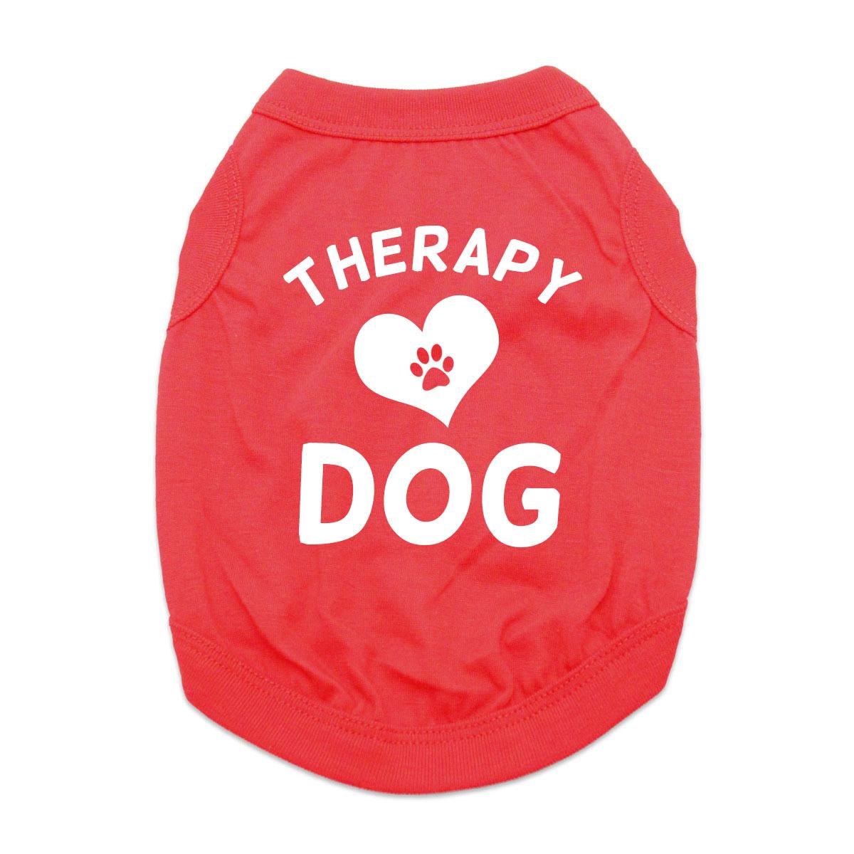 Therapy Dog Shirt - Red
