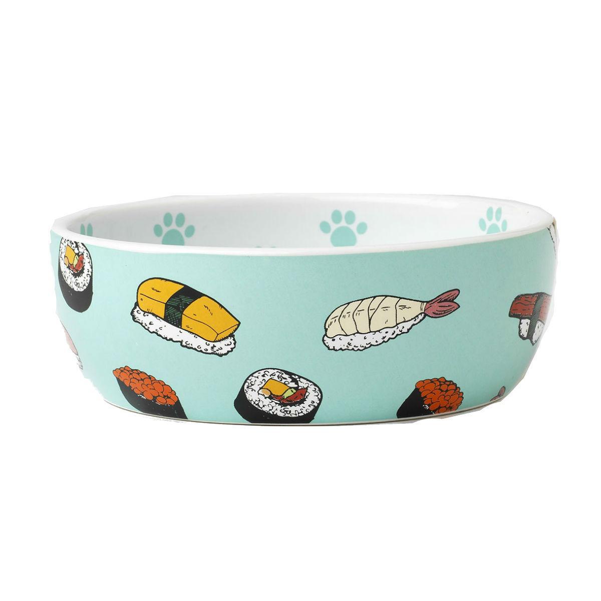 Sushi Shallow Pet Bowl