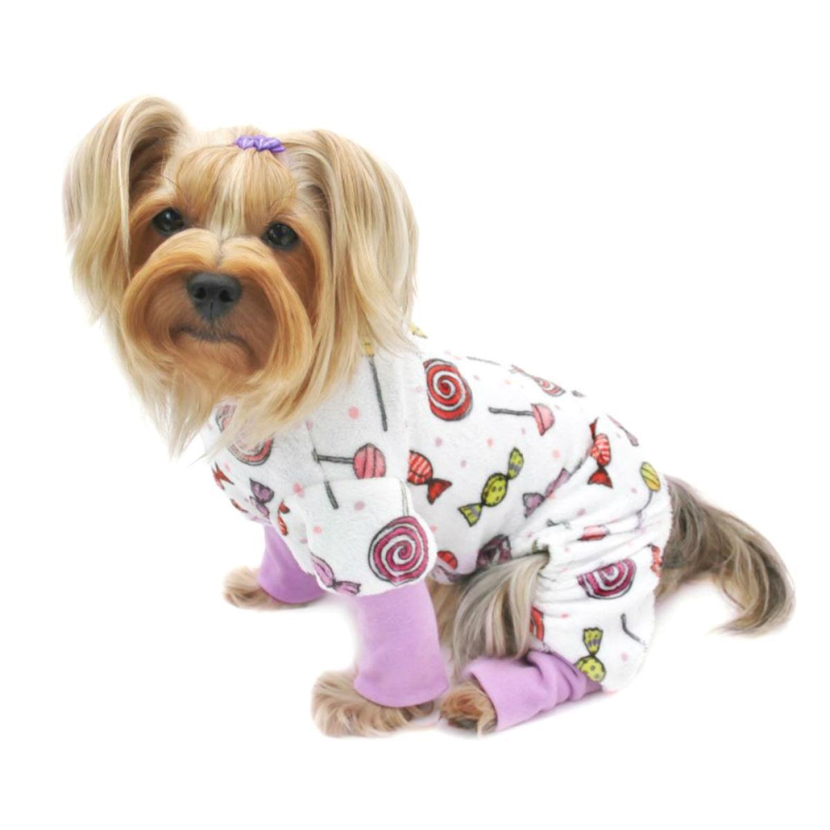 Sweet Candies Ultra Soft Dog Pajamas by Klippo