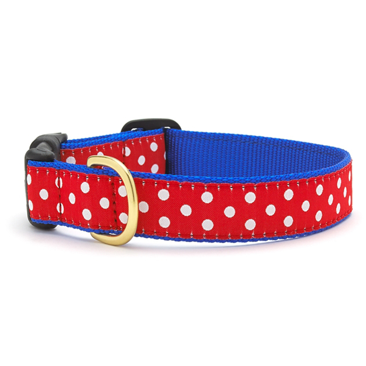 Swiss Dot Dog Collar by Up Country