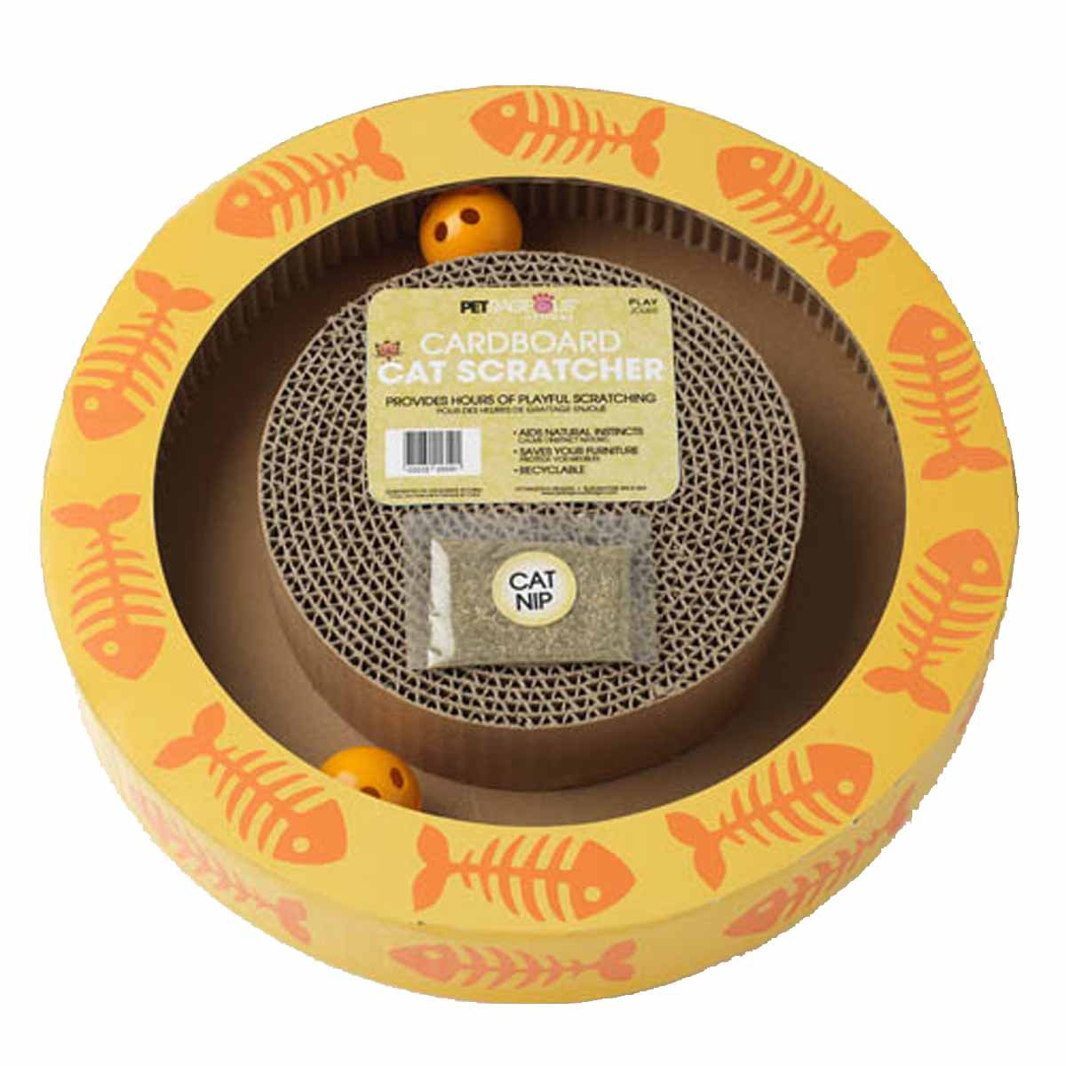 Sylvester's Interactive Cat Scratcher - Yellow