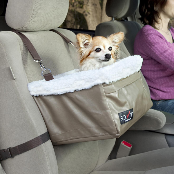 Pet Booster Seat >> Petsafe Solvit Tagalong Dog Car Seat Booster Baxterboo