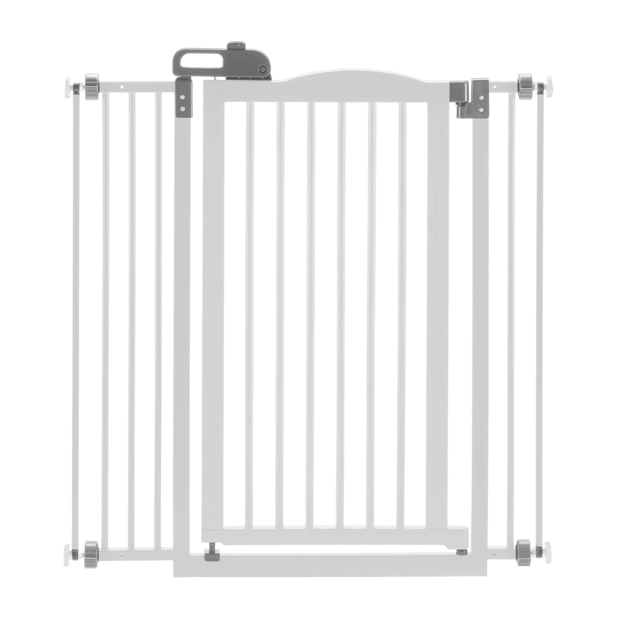 Tall One-Touch Dog Gate II - Origami White