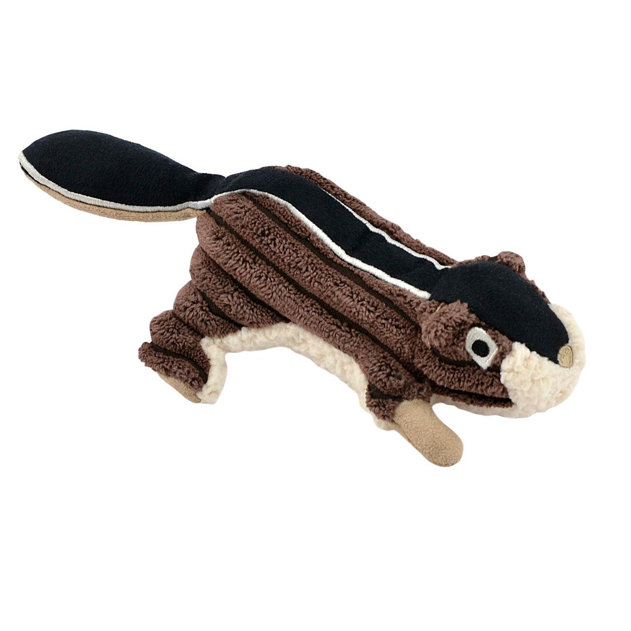 Tall Tails Chipmunk Dog Toy with Squeaker - 5