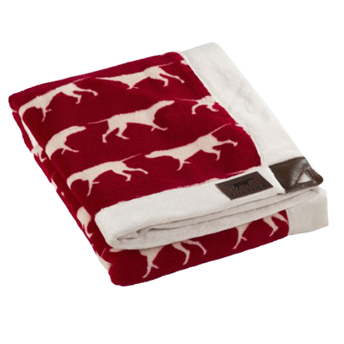 Tall Tails Iconic Fleece Dog Blanket Red Baxterboo