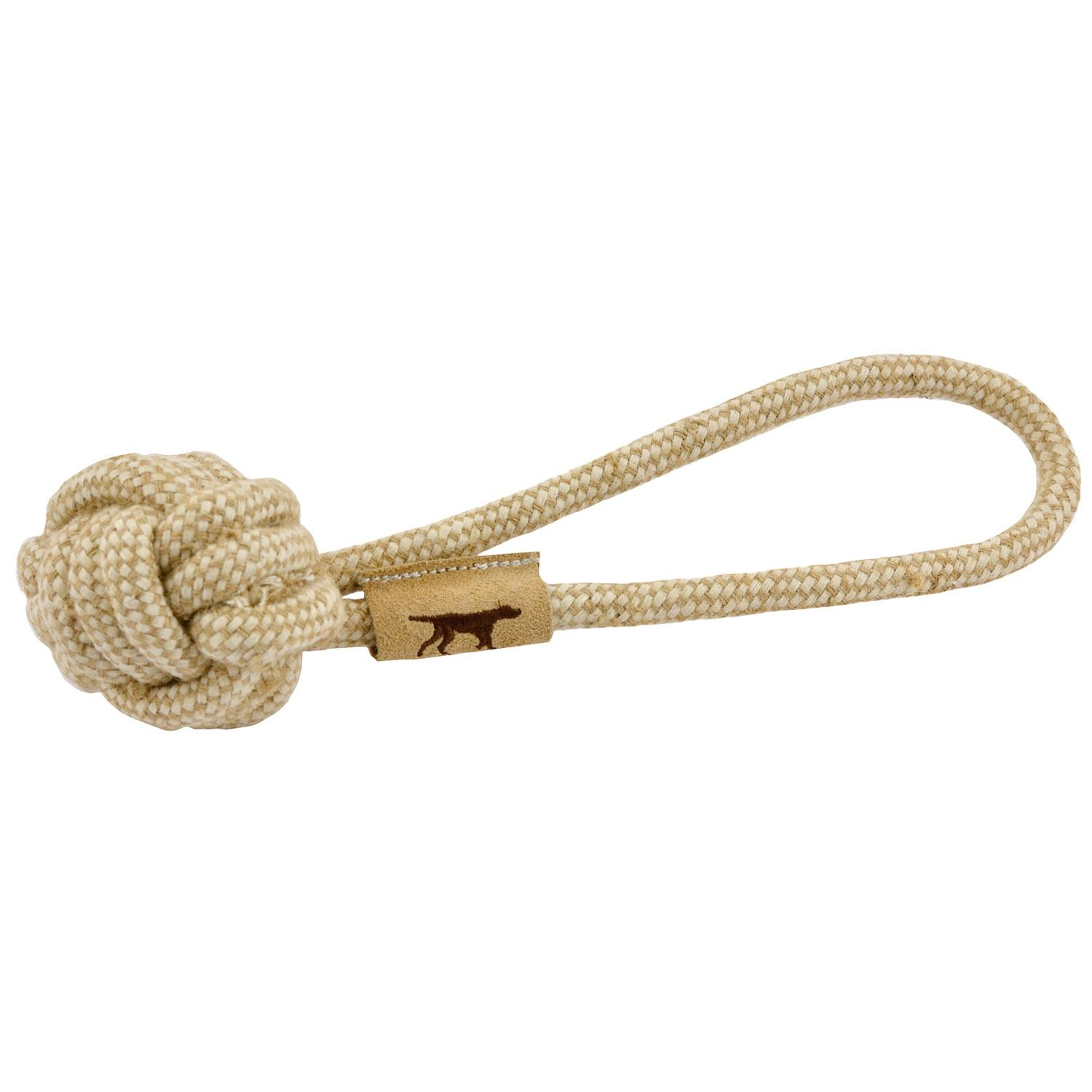 Tall Tails Natural Cotton and Jute Rope Tug Dog Toy