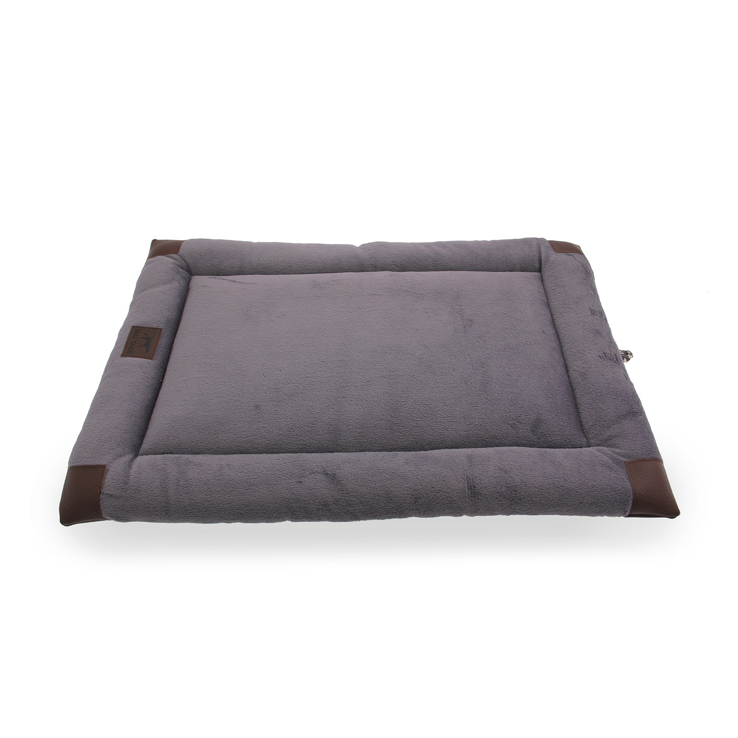 Tall Tails Velboa Dog Bed Houndstooth with Same Day Shipping