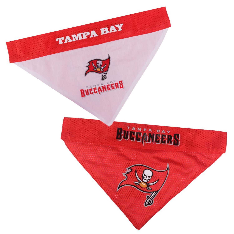Tampa Bay Buccaneers Reversible Dog Bandana Collar Slider
