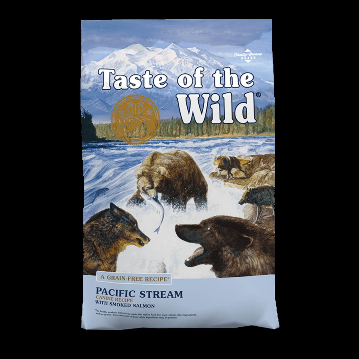 Taste of the Wild Pacific Stream Dog Food - Smoked Salmon