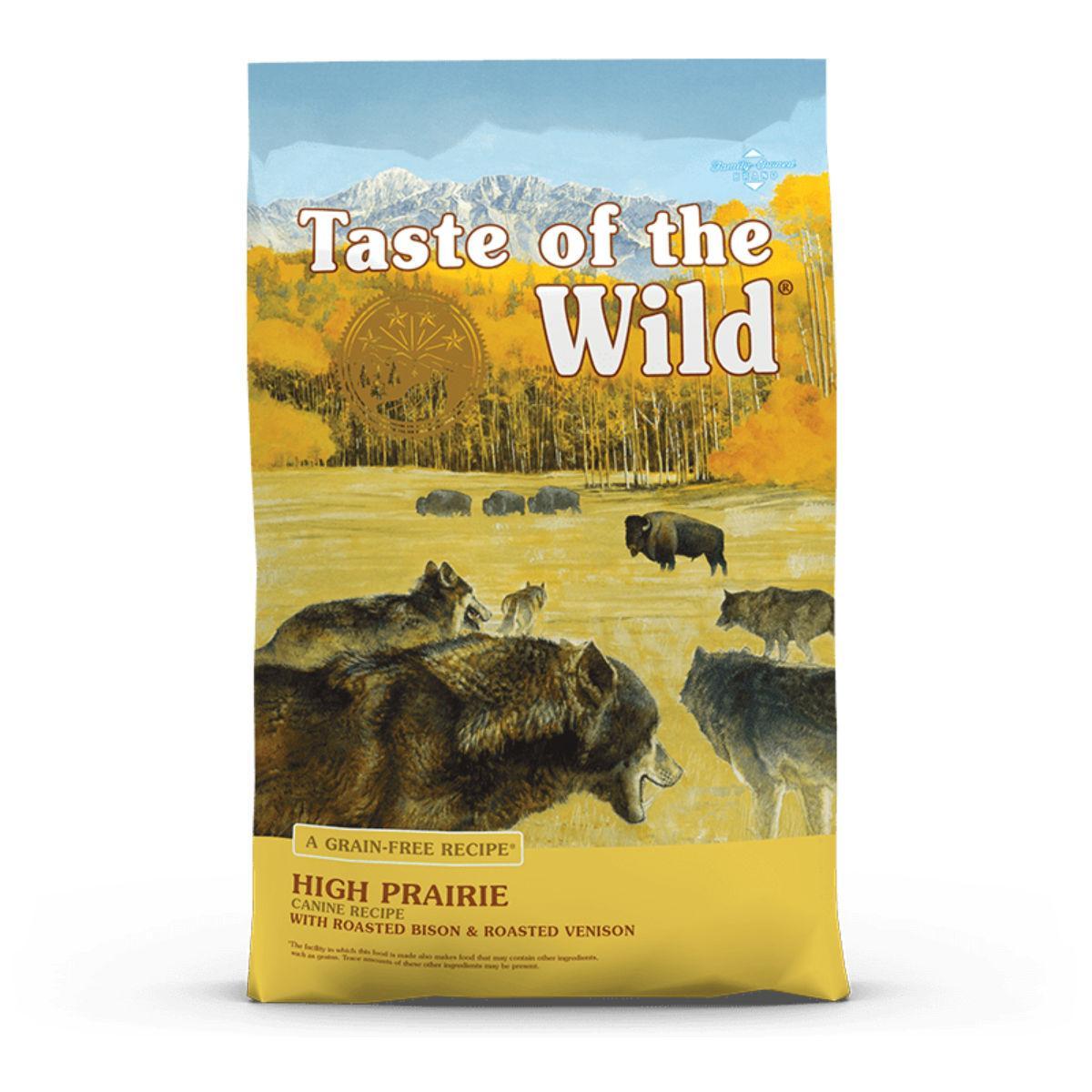 Taste of the Wild High Prairie Dog Food - Bison & Venison