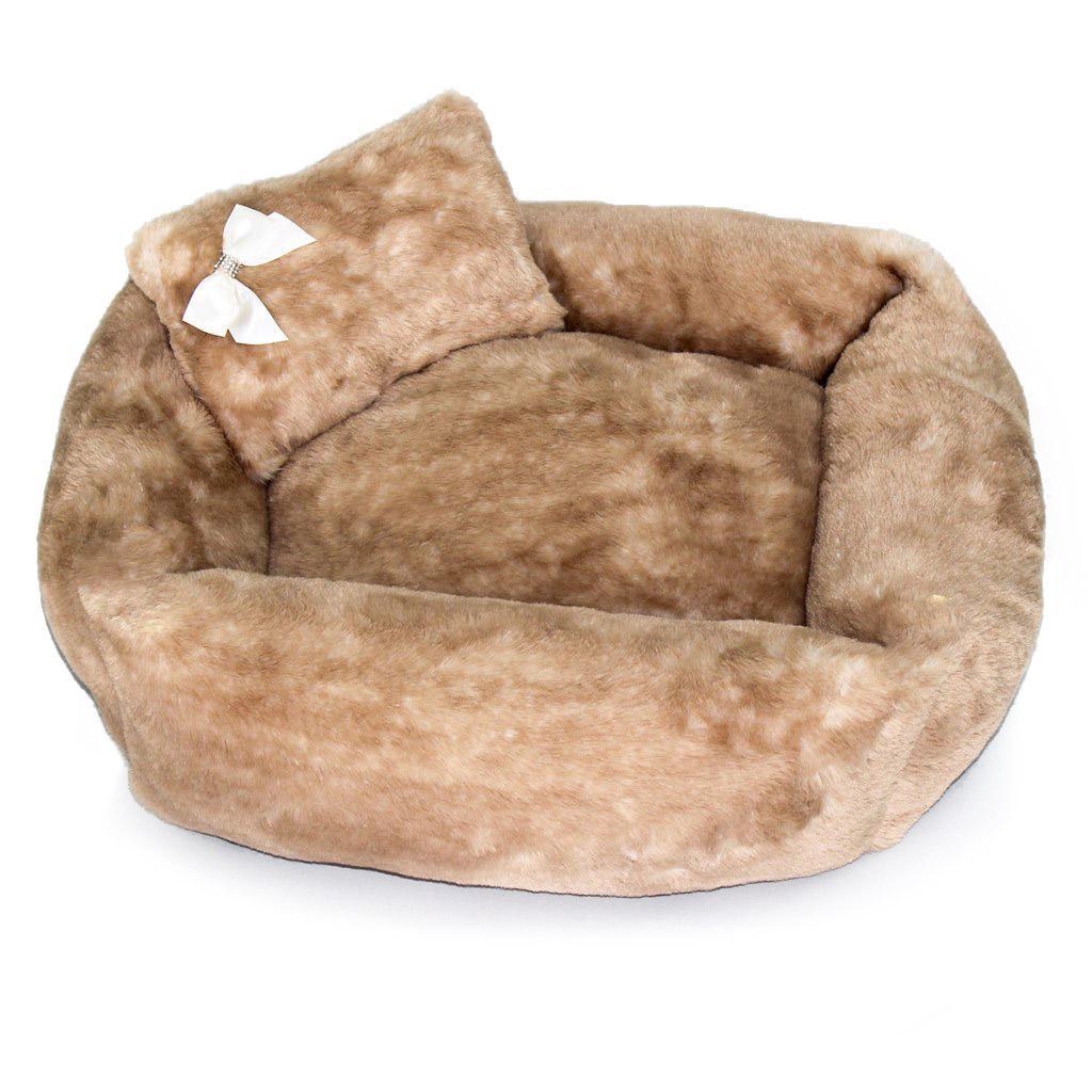 Teddy Bear Dog Bed by Hello Doggie