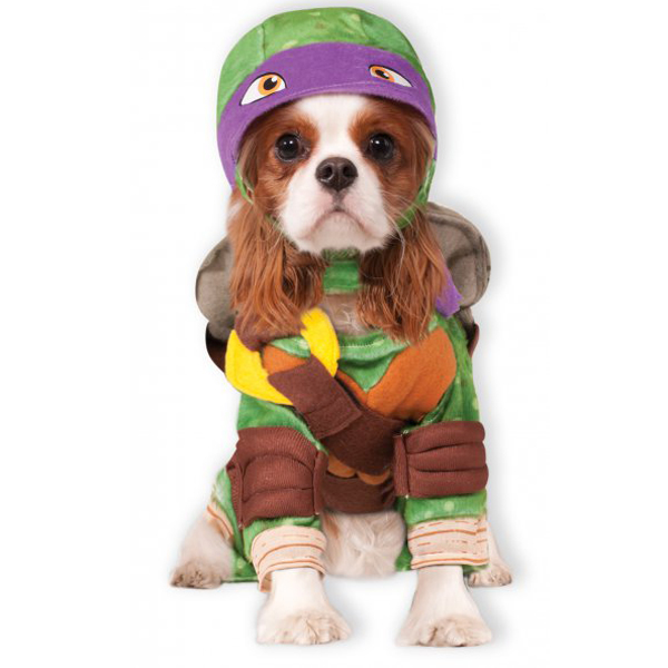 Teenage Mutant Ninja Turtle Dog Costume - Donatello