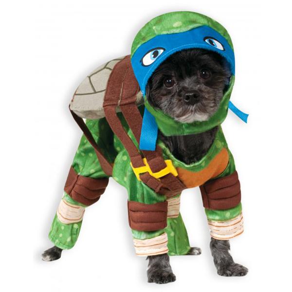 Teenage Mutant Ninja Turtle Dog Costume - Leonardo  sc 1 st  BaxterBoo & Teenage Mutant Ninja Turtle Dog Costume - Leonardo with Same Day ...