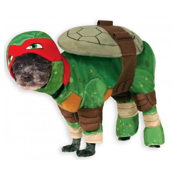 Teenage Mutant Ninja Turtle Dog Costume - Raphael  sc 1 st  BaxterBoo & Teenage Mutant Ninja Turtle Dog Costume - Rap... | BaxterBoo