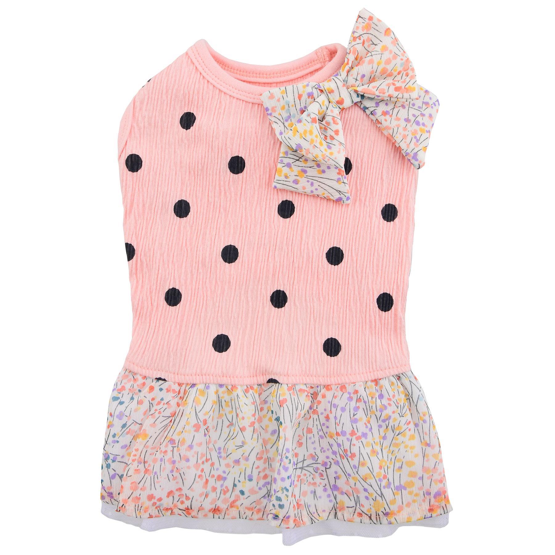 Tella Dog Dress by Pinkaholic - Pink