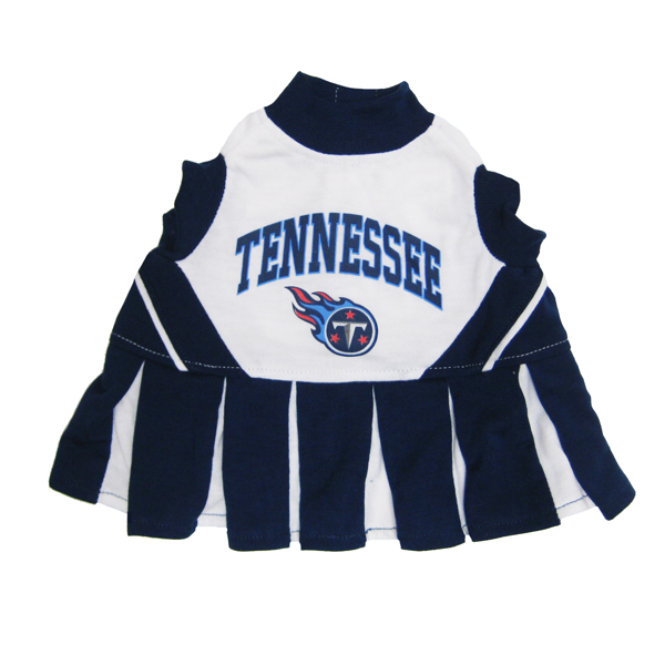 Tennessee Titans Cheerleader Dog Dress