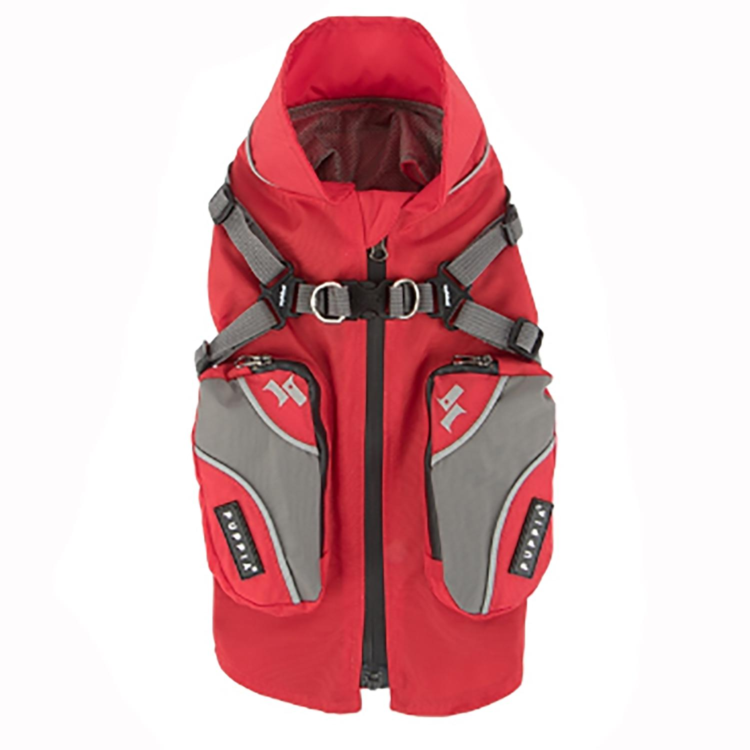 Teton Dog Vest by Puppia Life - Red