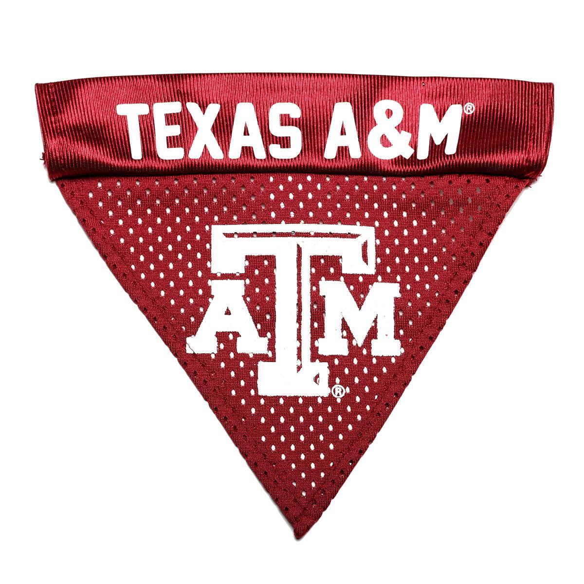 Texas A&M Dog Bandana Collar Slider