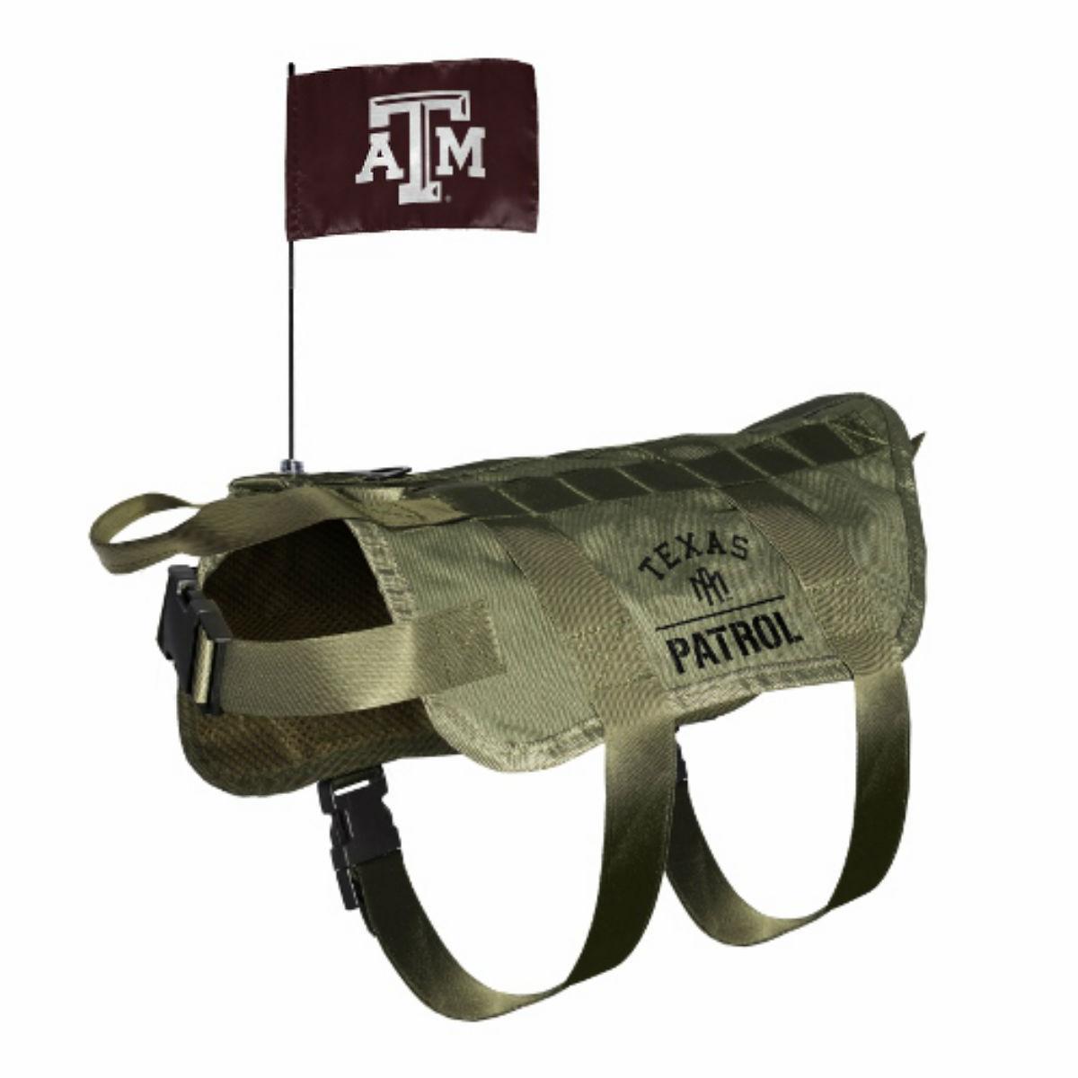 Texas A&M Tactical Vest Dog Harness