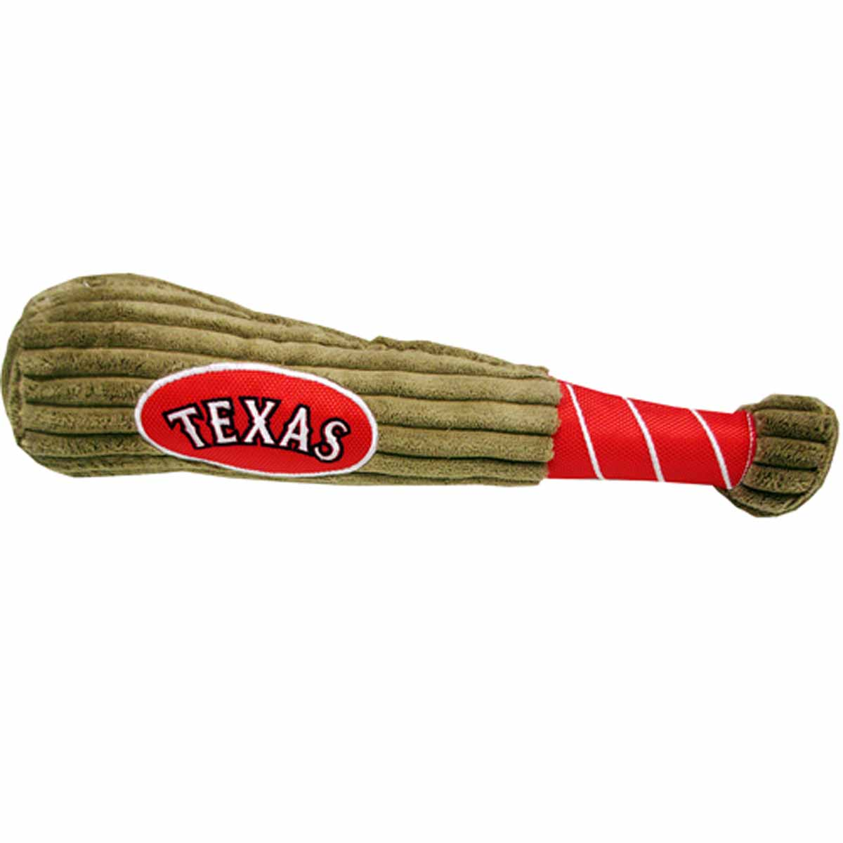 Texas Rangers Plush Baseball Bat Dog Toy