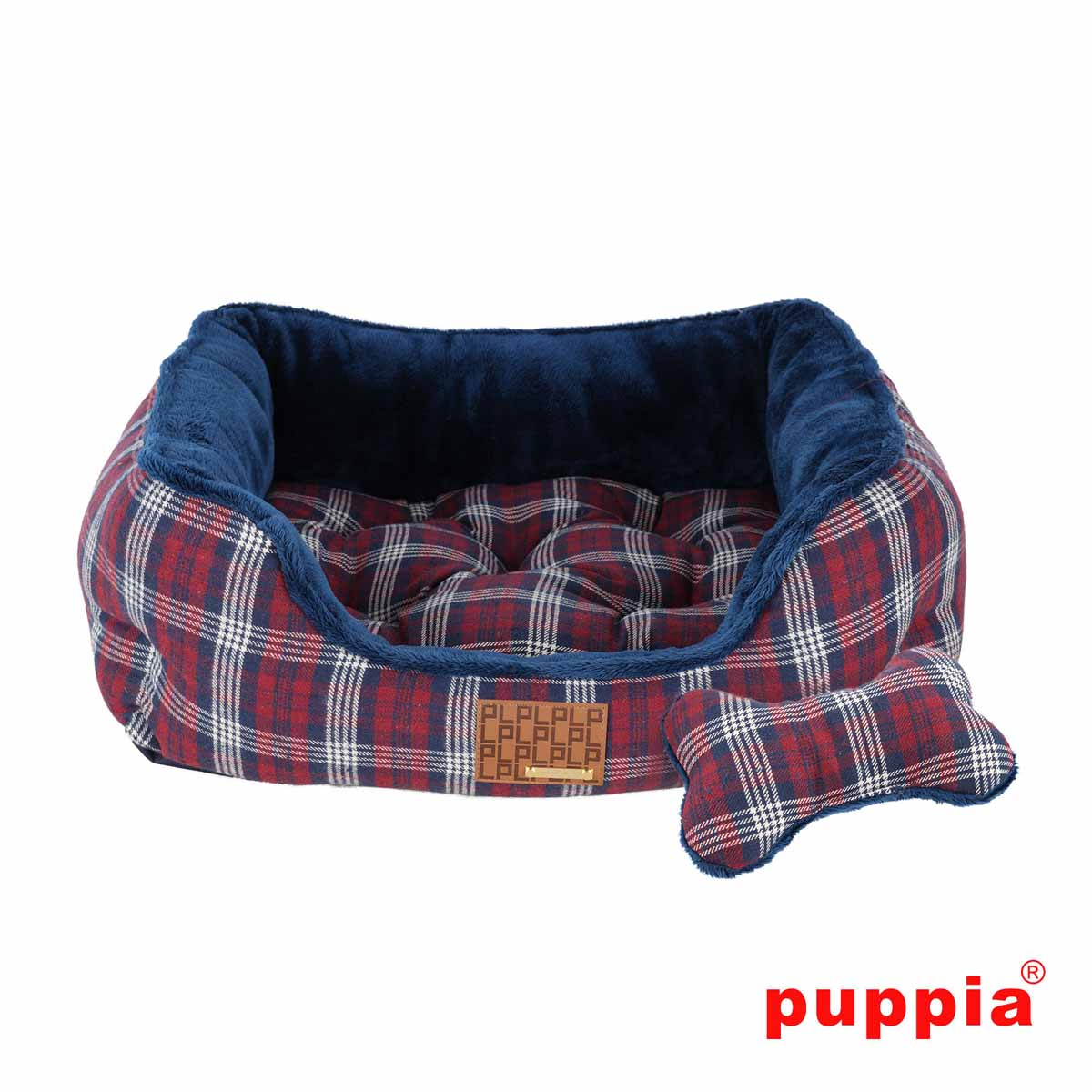 Theodore House Dog Bed by Puppia - Navy