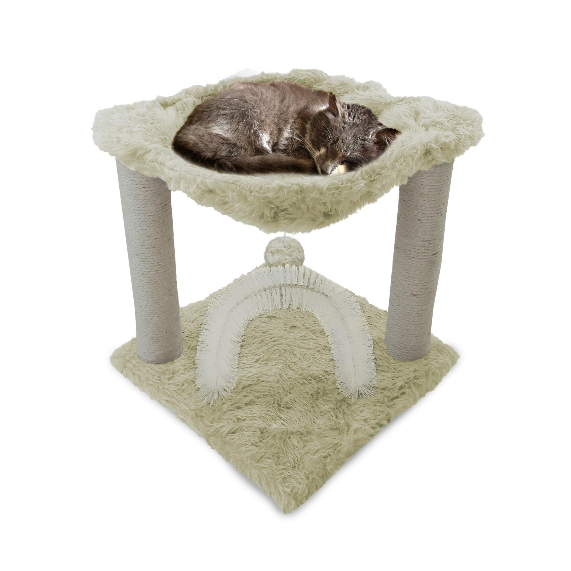 Furhaven Tiger Tough Plush Cat Hammock