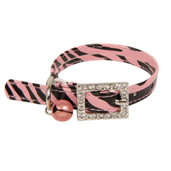 Tigris Cat Collar by Catspia - Pink