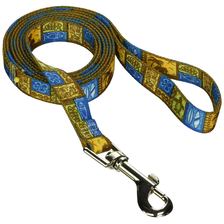 Tiki Print Dog Leash by Yellow Dog - Uptown