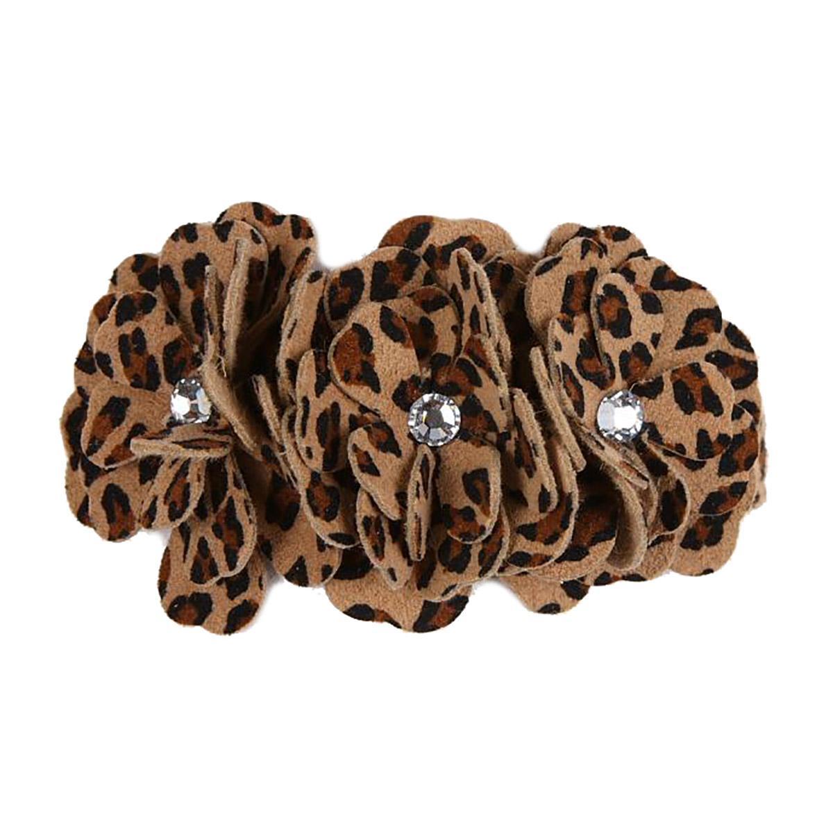 Tinkie's Garden Dog Collar by Susan Lanci - Cheetah