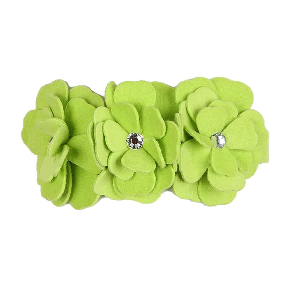 Tinkie's Garden Dog Collar by Susan Lanci - Kiwi