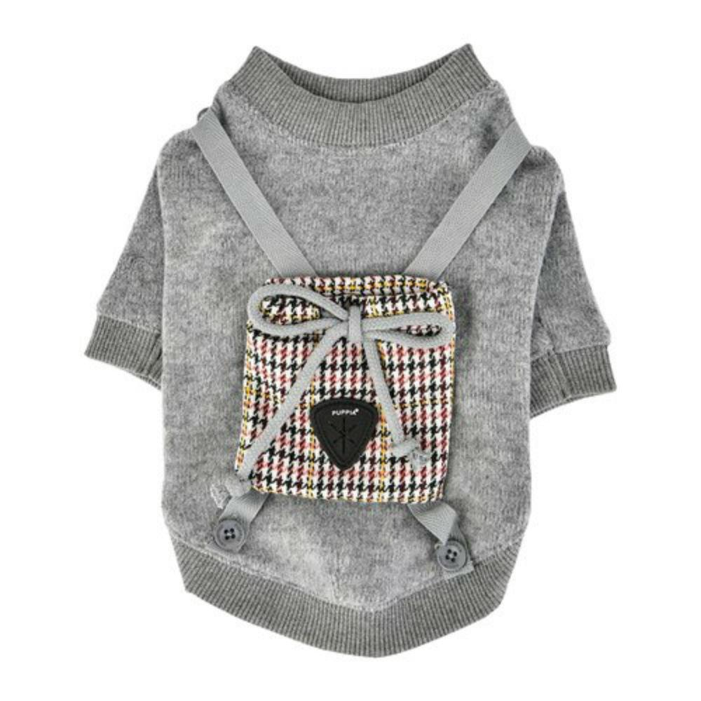 Tommy Dog Shirt by Puppia - Grey