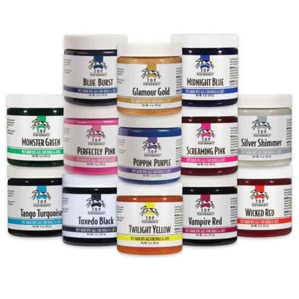 Top Performance Dog Hair Dye Gels