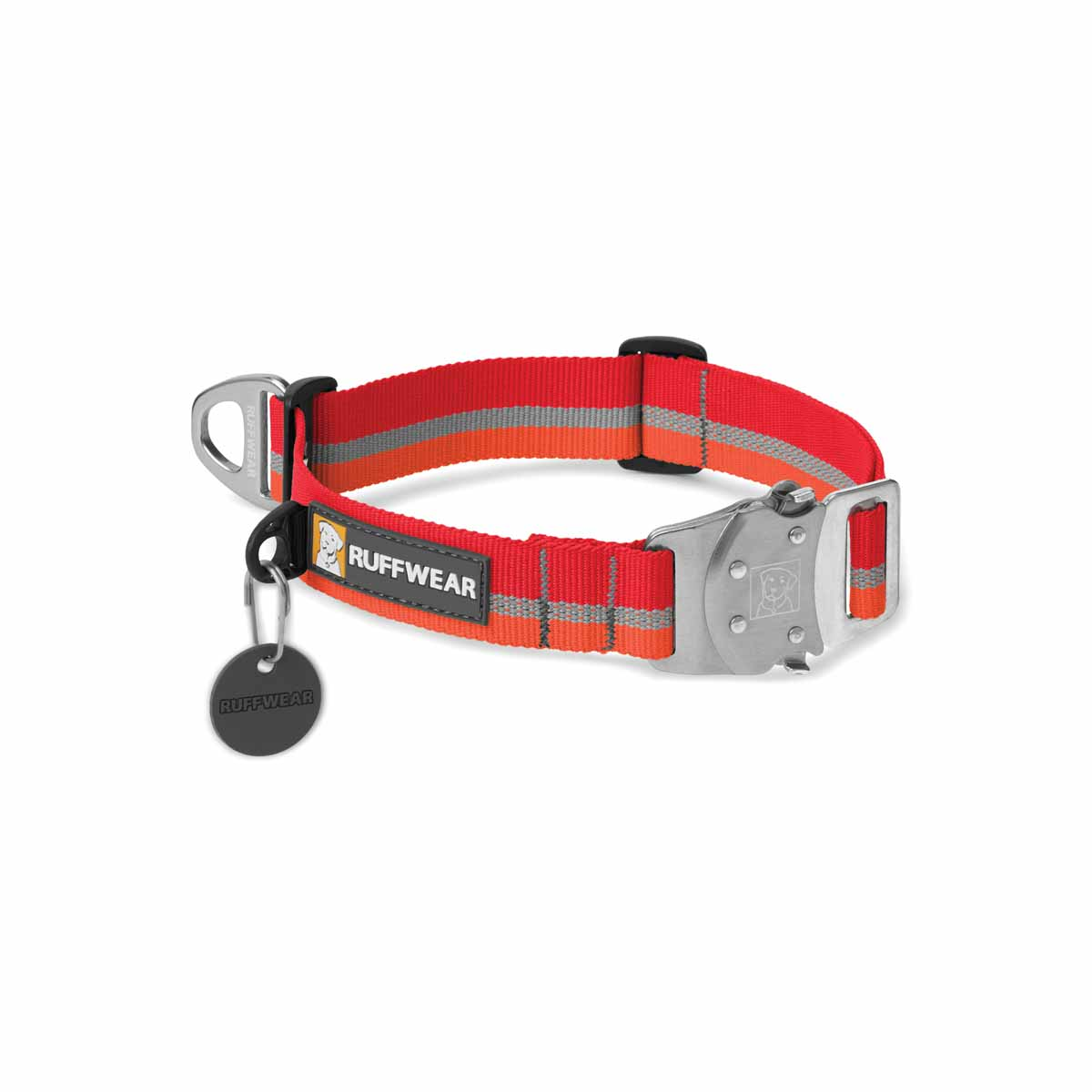 Top Rope Dog Collar by RuffWear - Kokanee Red
