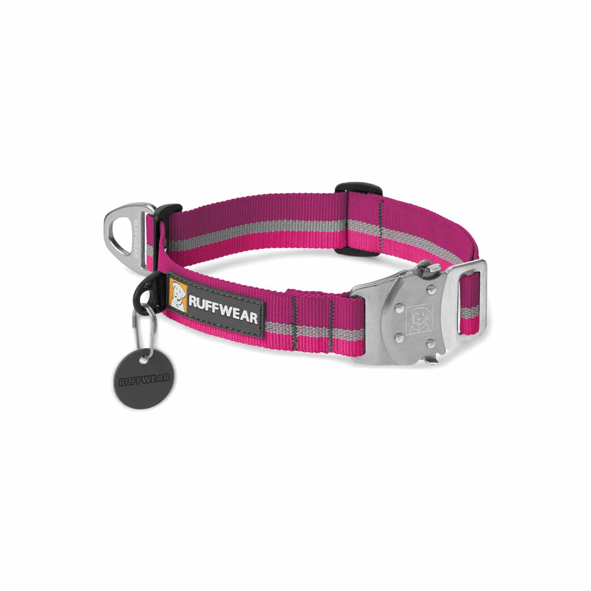 Top Rope Dog Collar by RuffWear - Purple Dusk