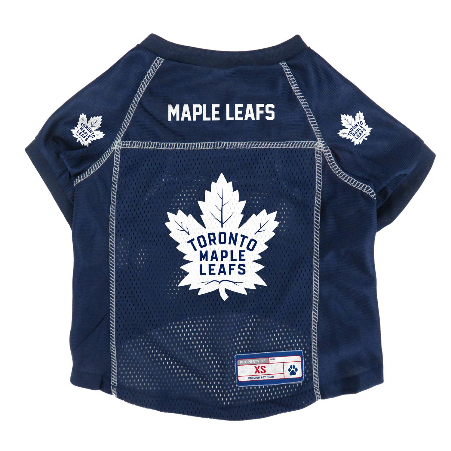 Toronto Maple Leafs Mesh Dog Jersey - Navy