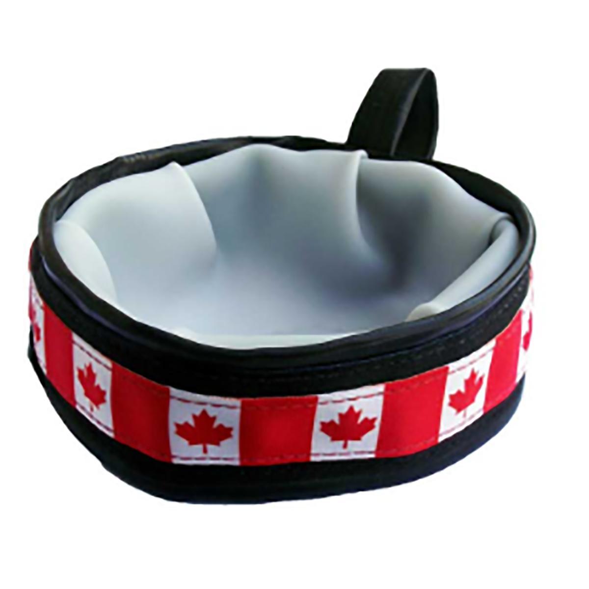 Trail Buddy Portable Dog Bowl by Cycle Dog - Canada Maple Leaf