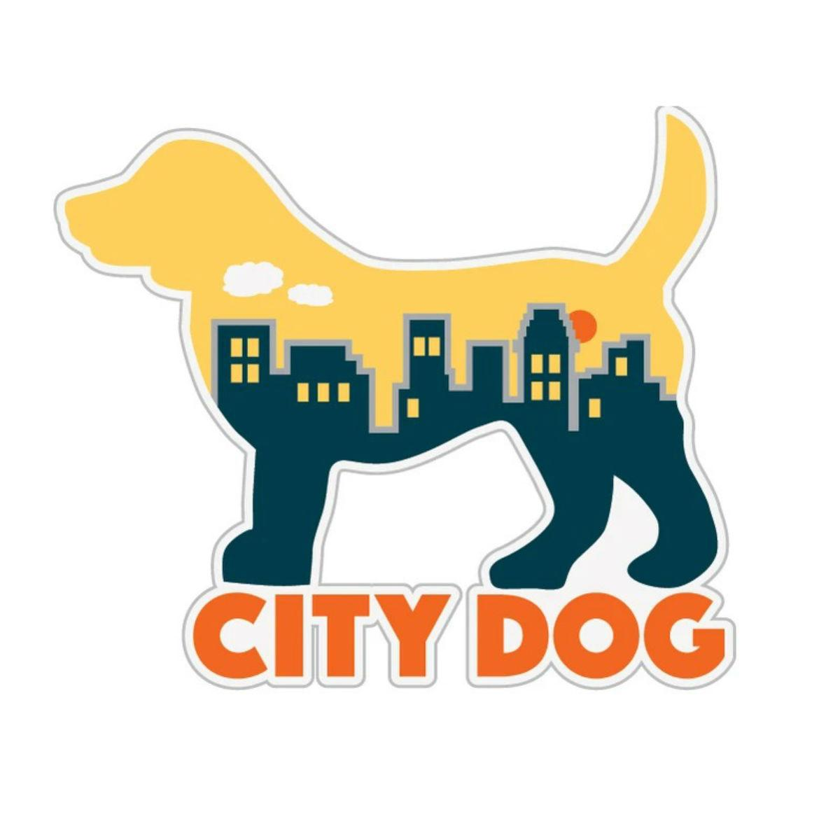 City Dog Sticker by Dog Speak
