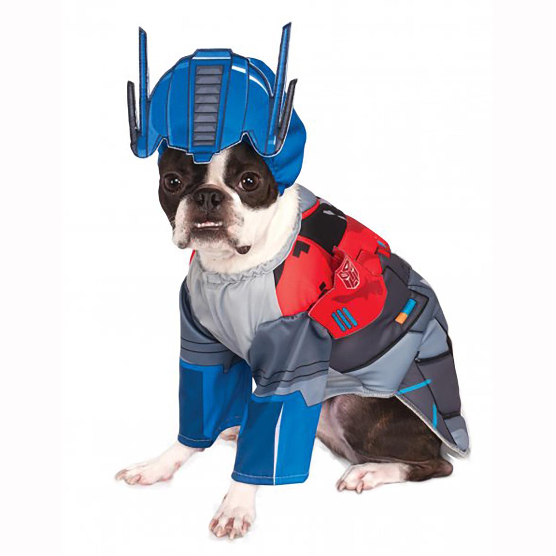 Transformers Deluxe Optimus Prime Halloween Dog Costume