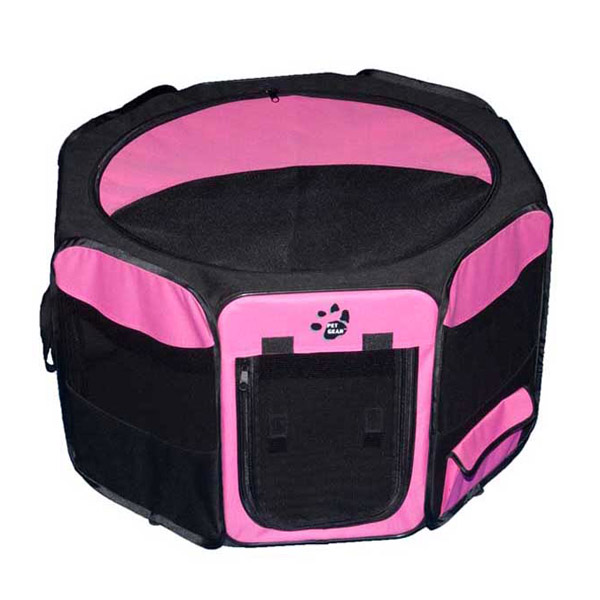 Travel Lite Soft-Sided Pet Pen - Pink