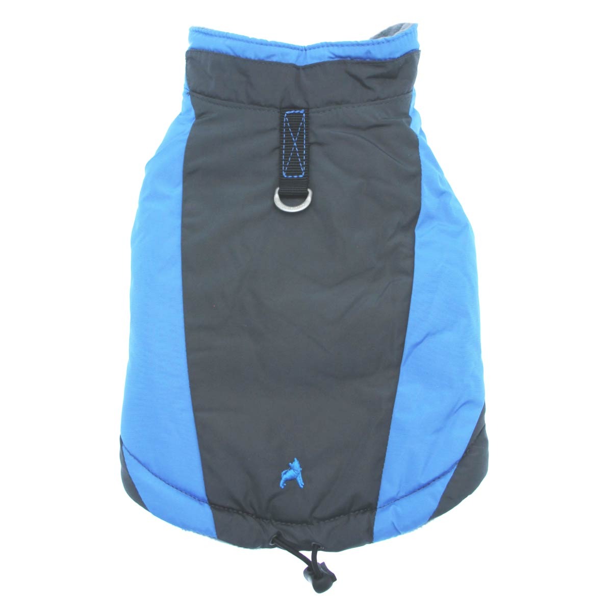 Trekking Dog Jacket by Gooby - Ocean Blue