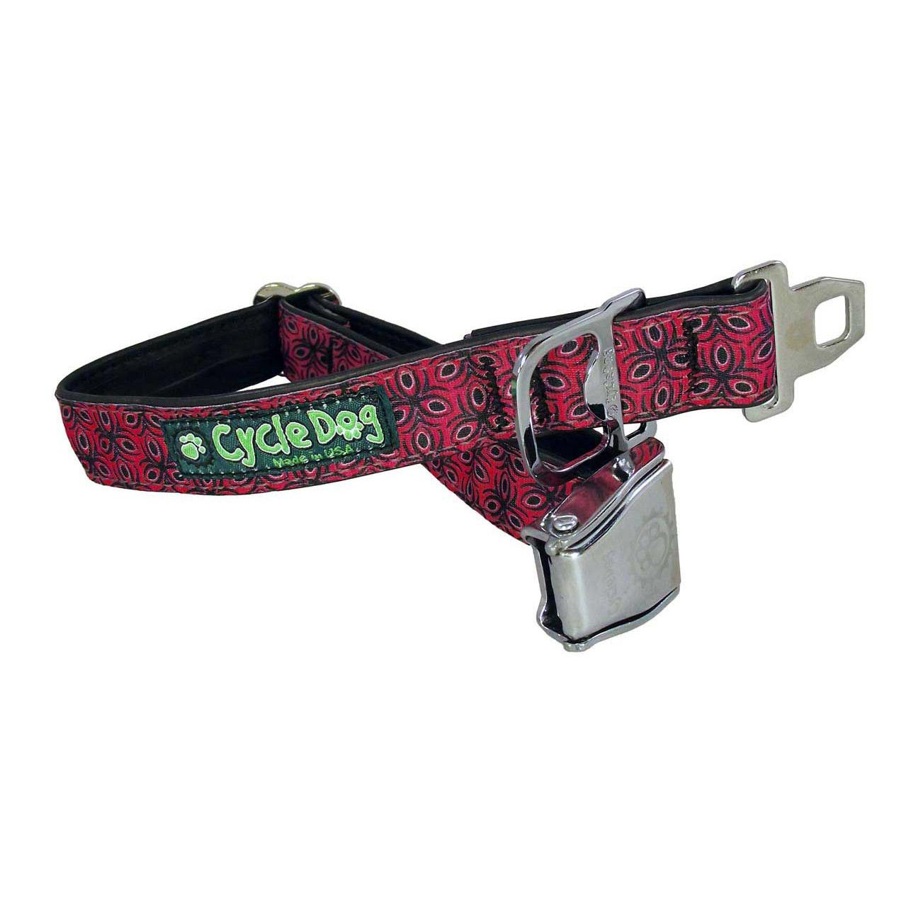 Tri-Style Metal Latch Dog Collar by Cycle Dog - Red